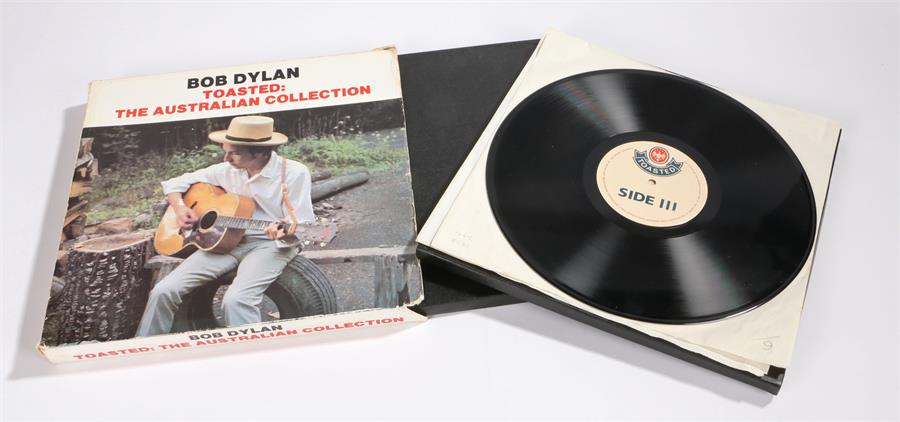 Lot 35 - Bob Dylan - Toasted, The Australian Collection, 10 x LP Box set, Toasted.