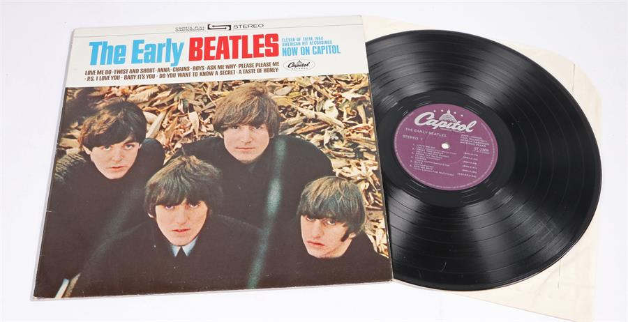 Lot 11 - The Beatles - The Early Beatles LP. Capitol ST 2309 Canadian reissue.