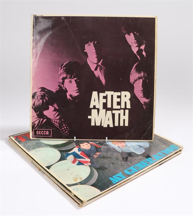 Lot 45 - 5 x 1960s LPs. The Who - My Generation, Brunswick LAT 8616, MG-10256/7 1B/1B mono. Manfred Mann -
