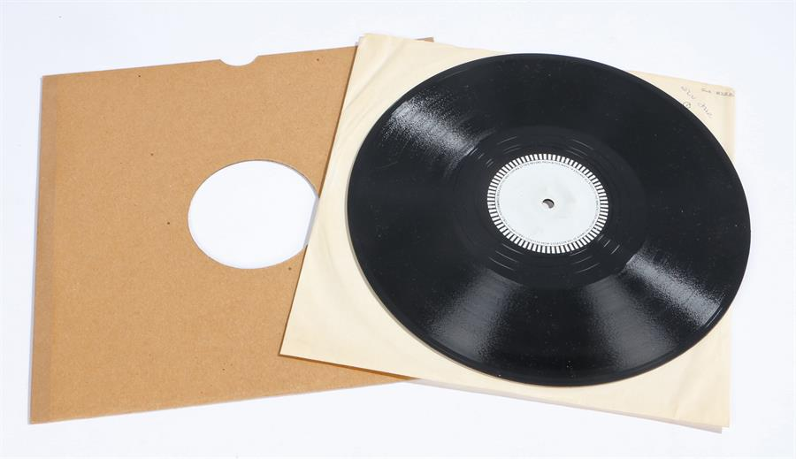 Lot 52 - Elvis Presley - Jailhouse Rock b/w Unknown Big Band Instrumental 78RPM, Vinyl Master Pressing. Vinyl