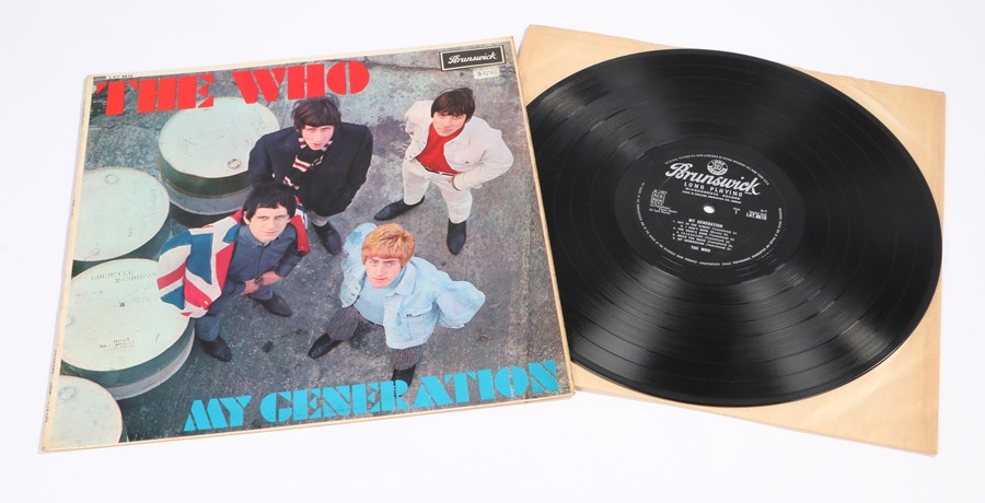 Lot 14 - The Who, My Generation LP, Brunswick LAT 8616 mono, silver/black label, laminated front sleeve, MG-