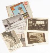 Konvolut Postkarten, Hermann Dischler Sechs mit Ansichten aus Dischlers Haus in Hinterzarten, fünf