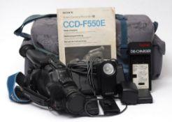 Kameratasche Darin Videokamera Sony Precision CD mit Zubehör.