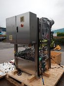 Zalkin CA4 automatic rotary ROPP capper. Output speeds of up to 120 bottles per minute. All