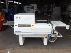 Ariane MC Series 4535 compact semi automatic L sealer with heat shrink tunnel. Sealing frame
