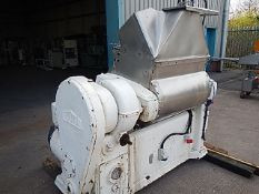 Morton 250 litre GL55 Gridlap Series 5 mixer for food and non-food pastes, compounds and powders.