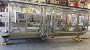 Multipack FRB500 box former. Fully guarded, automatic former for cardboard boxes and trays. Up to