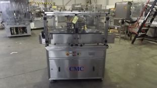 CMC 8 head vacuum filler, current format parts for 30ml, user friendly and very accurate filling