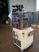 Manesty Express 25 station rotary EU B type tablet press. Single-sided machine fitted with one