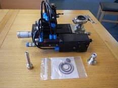 Hibar Systems 4F1 Precision metering pump designed for excellent accuracy fluid dispensing,