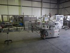 Harland Sirius MK5 Front and Back Labeller. All s/s construction front and back labeller with scroll