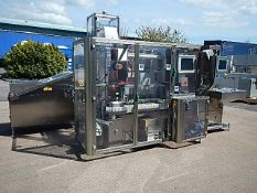 Marchesini MT1000 Rigid Tube Filler. Automatic filling and sealing of rigid tubes. Suitable to
