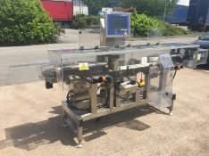 Mettler-Toledo Garvens XS2 high speed checkweigher for continuous weighing and sorting. Capacity 0–