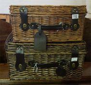 2 x Picnic Baskets