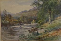 John McWhiter Fisherman at River