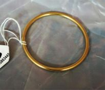 9ct Gold slave bangle, 29.9 grams