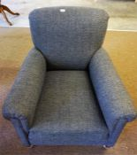 Tweed covered Armchair