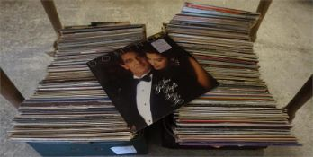 Two boxes of classical LP records, to include some 7 inch examples, approx 100 in total