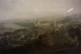 Print of Jedburgh by I. Clark