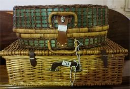 Two Picnic Baskets