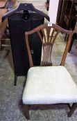 Trouser Press & Mahogany Bedroom Chair (2)