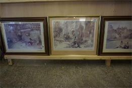 Three Framed Sir William Russell Flint Prints