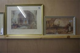 Two Framed Sir William Russell Flint Prints