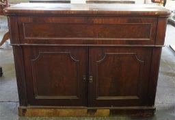 Victorian mahogany Secretaire Chiffonier