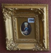 Three Victorian Giltwood Framed Portrait Prints Of Royalty