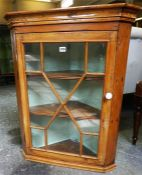 A Victorian Pine Corner Cabinet
