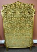 A Continental Gilded Tapestry Hallstand