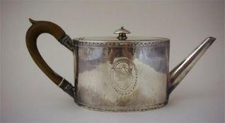 A George III Silver Teapot