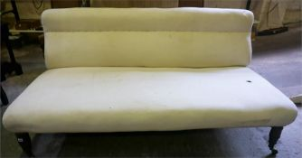 A 19th Century Upholstered Sofa