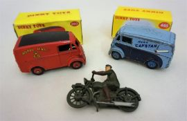 A Dinky Toy Morris 10 Capstan Van by Meccano Ltd
