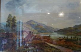 Loch Earn, Oil On Canvas,