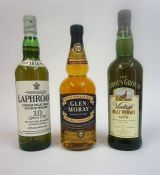 Glen Moray 16 Year Old Single Speyside Malt Whisky, 70cl, 40% vol, with outer tin, also with a