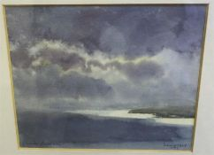 "Charles Rodwell ""Landscape"" Watercolour, signed and dated 98, 14.5 x 17.5cm, also with a signed"