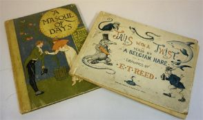 A Masque Of Days By Walter Crane 1901, one book, in fair condition, also with Tails With A Twist,