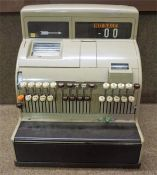 A Cash Register Shop Till By National, circa mid 20th century, 45cm high