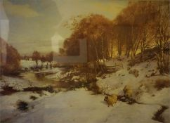 Three Assorted Prints Of Moorland Views, one example after Farquharson, and another after McIntosh