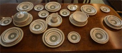 """A Spode """"Provence"""" 48 Piece Dinner Set, to include tureens, plates and bowls, (48)"""