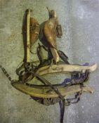 Four Assorted Horse Bridles, (4)