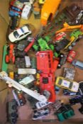 A Quantity Of Die Cast Model Toy Cars & Vehicles, to include examples by Matchbox and Corgi,