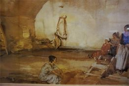 A Quantity Of Framed Prints, to include examples by Sir William Russell Flint and floral study