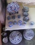 A Mixed Lot Of 18th & 19th Century Chinese Porcelain, to include an 18th century Chinese Imari