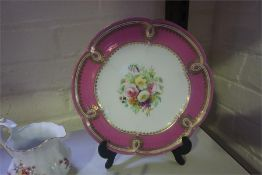 A Quantity Of Decorative China, to include Limoges porcelain patch boxes, cabinet cups with