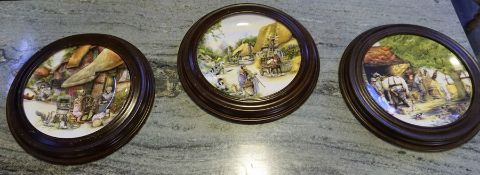 A Large Quantity of Picture Plates, to include examples by Royal Doulton and Spink, some plates
