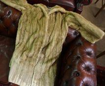 A Vintage Ladies Fur Jacket, With label for Dominion Fur Co Ltd Edinburgh, 120cm long