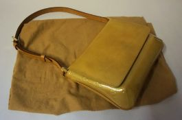 A Louis Vuitton Thompson Street Evening Bag, In almost new condition, mustard coloured, no BO 0070