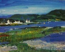 "Hamish MacDonald DA PAI (Scottish 1935-2008) ""Summer Plockton"" Signed Limited Edition Lithographic"